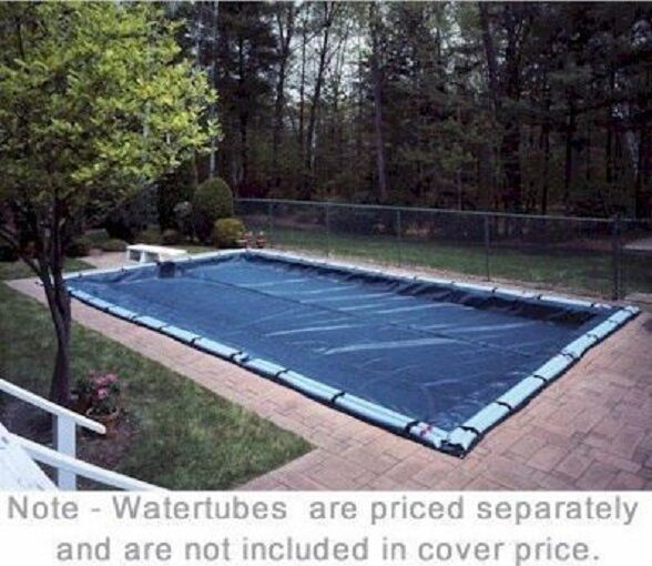 New Classic Model Winter Swimming Pool Cover For Rectangular In Ground Pools Ebay