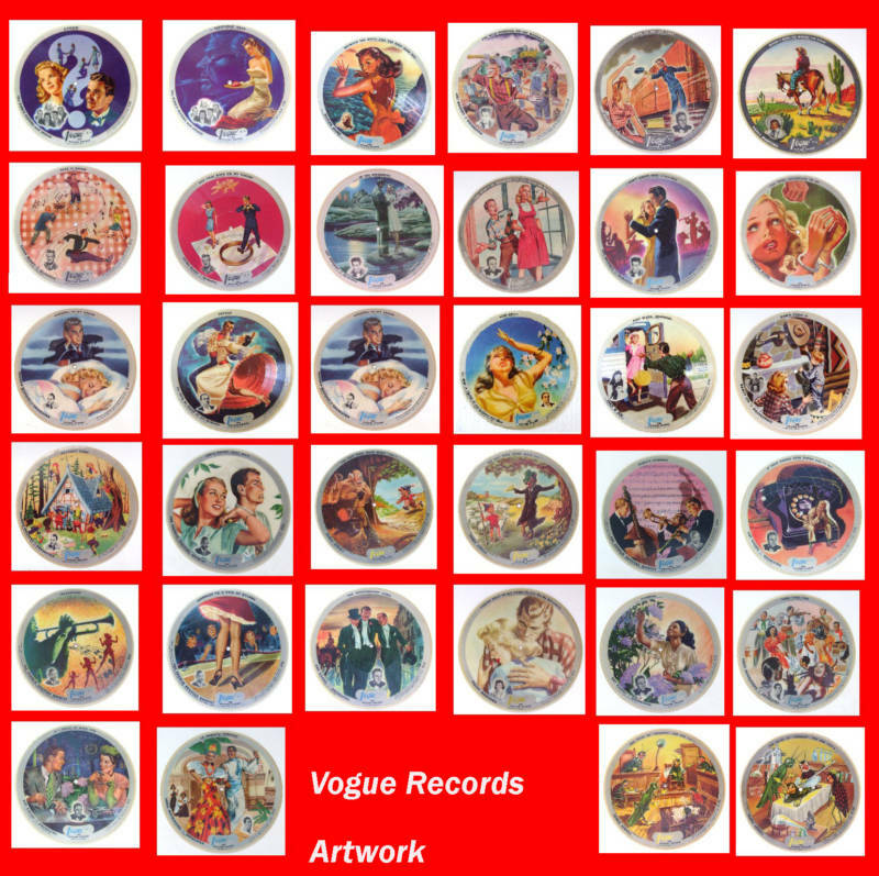 Vogue Picture Records Artwork Cd Featuring 34 Graphics Ebay