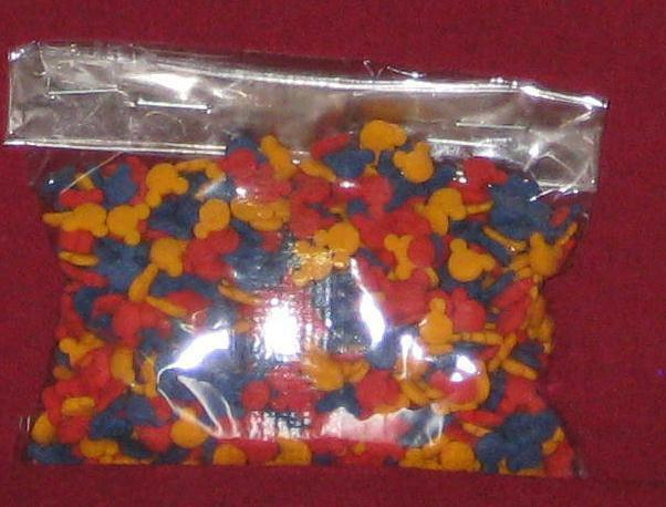 Mickey mouse primary color sprinkles quins decopac for Decorating quins