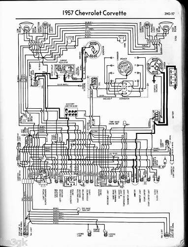 1957 chevy starter wiring diagram chevy wiring diagrams * 1957 thru 1965 chevrolet * cdrom ...