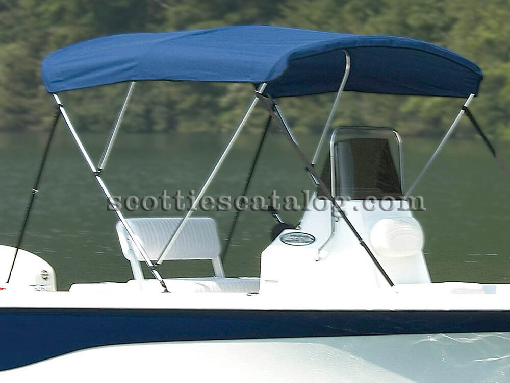 New Sunbrella Bimini Top By Carver For Your Wellcraft