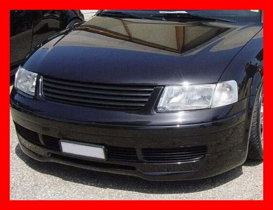 vw passat b5 3b front bumper spoiler tuning gt ebay. Black Bedroom Furniture Sets. Home Design Ideas