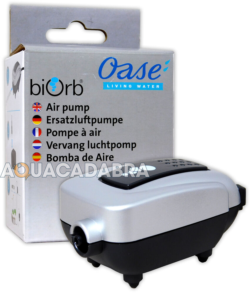 Oase baby biorb moonlight air pump 12v ac 50hz aquarium for Air pump for fish tank