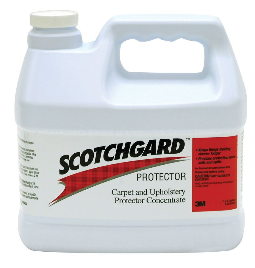 3m Scotchgard Carpet And Upholstery Protector 1 Gallon