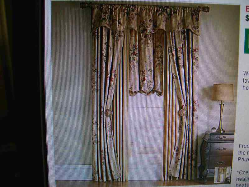 JCPenney Antoinette Pinch Pleated THERMAL Drape Curtain | eBay