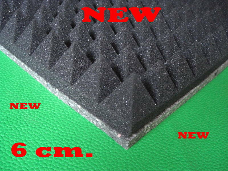 Acoustic Foam Insulation : New panels insulation foam acoustic soundproofing box ebay