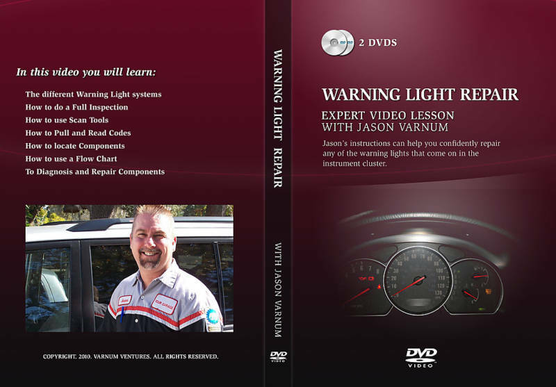 Auto Repairwarning Light Repair With Jason Varnum Ebay