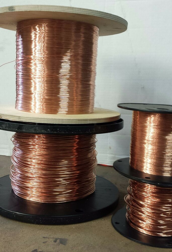 Copper Electrical Wire >> 18 AWG Bare copper wire - 18 gauge solid bare copper - 1000 ft | eBay