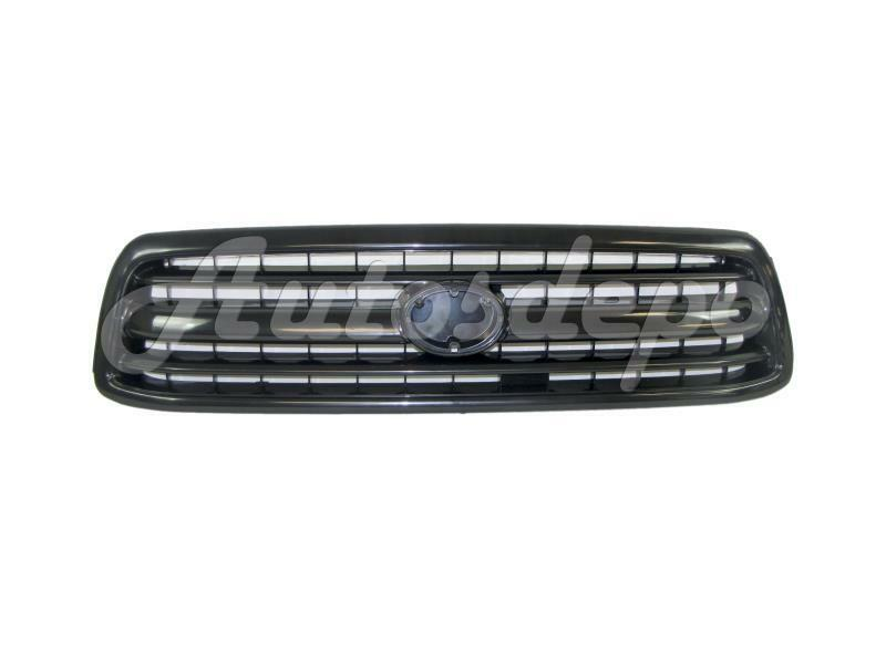 for 2000 2002 toyota tundra grille material black ebay. Black Bedroom Furniture Sets. Home Design Ideas