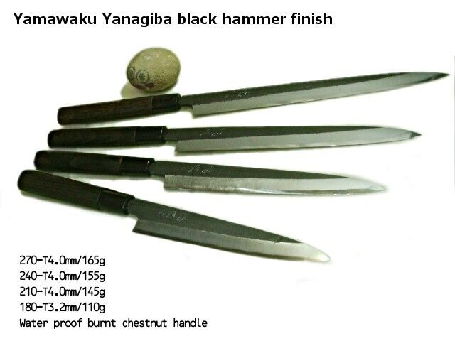 japanese yamawaku yanagiba sashimi chef knife houchou ebay. Black Bedroom Furniture Sets. Home Design Ideas