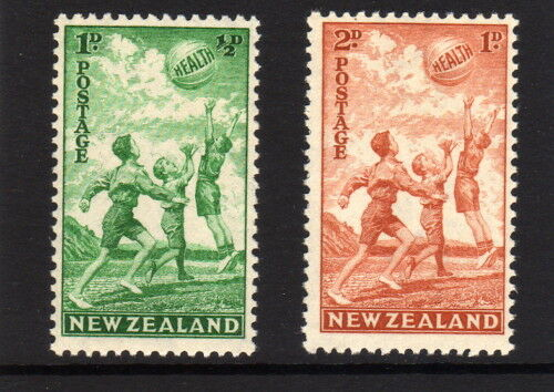 new zealand 1940 health set sg 626 627 mnh ebay. Black Bedroom Furniture Sets. Home Design Ideas