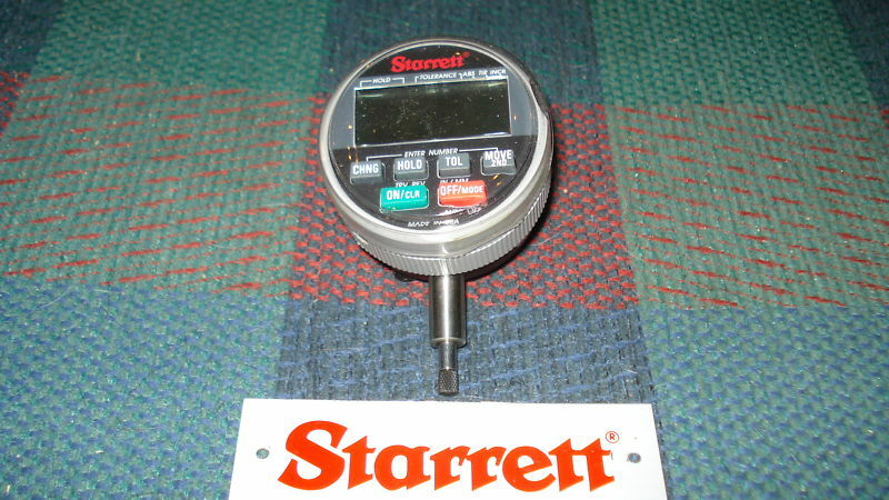 Electronic Test Indicator Series 213 : Starrett f wisdom plus electronic dial indicator ebay