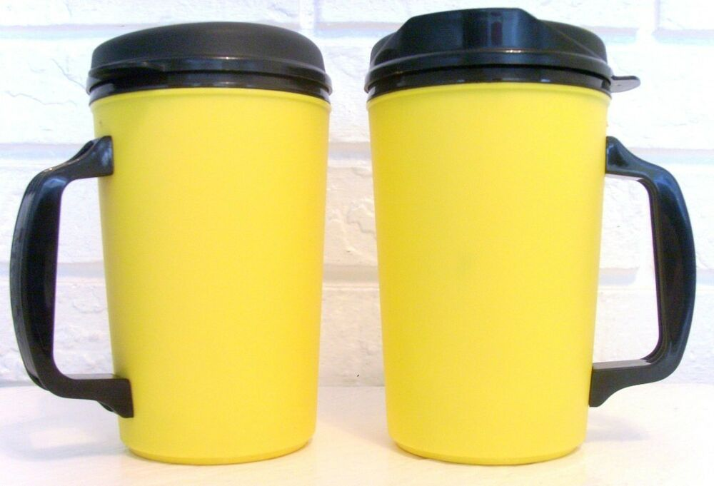 20 oz thermo serv classic insulated travel coffee mugs ebay. Black Bedroom Furniture Sets. Home Design Ideas