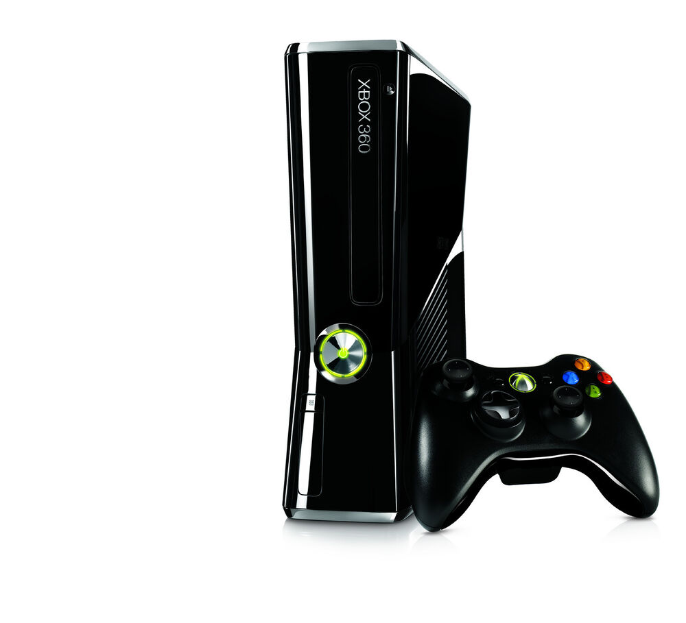 MICROSOFT XBOX 360 SLIM--250 GB MODEL! 885370127119