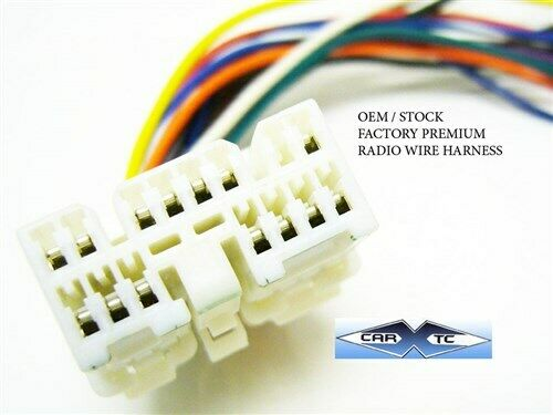 s l1000 toyota oem premium factory radio wire harness 1991 2001 ebay 91 supra wiring harness at gsmx.co