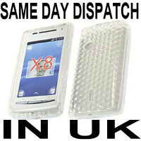 CLEAR GEL SKIN CASE COVER FOR SONY ERICSSON X8 XPERIA