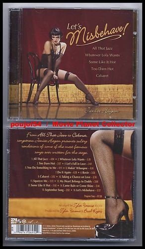 "JANICE HAGAN ""Let's Misbehave !"" (CD) 2004 Cabaret NEUF"