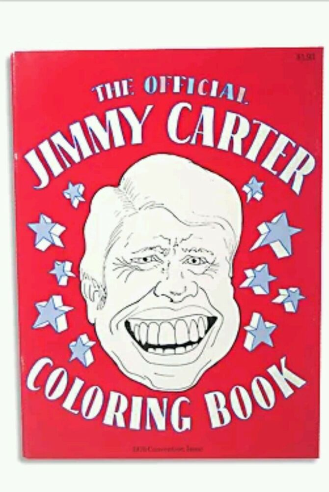 Jimmy carter 1976 president convention coloring book for Jimmy carter coloring page