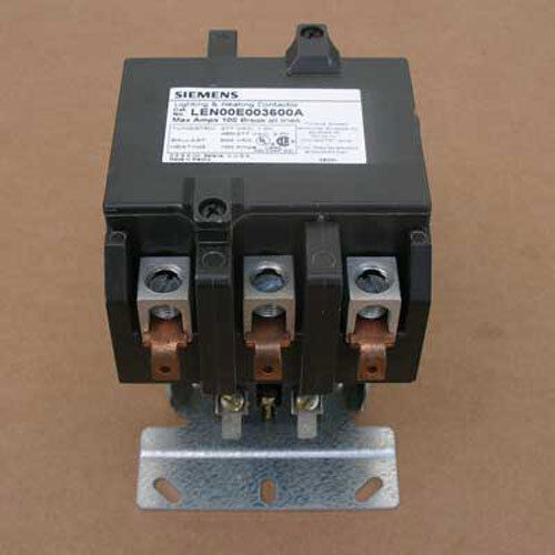 New Siemens LEN00E003600A 100A 3P Lighting Contactor Op