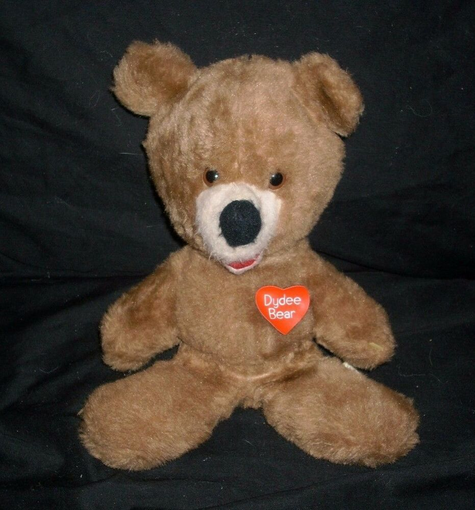 VINTAGE 1975 DYDEE BEAR ANIMAL FAIR HENRYS FRIEND STUFFED ...