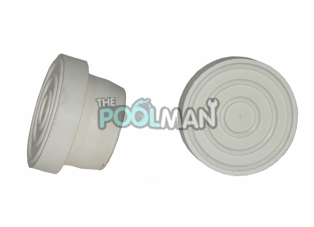 2 pack of swimming pool ladder bumpers made of durable epdm ebay - Rubber swimming pool ladder bumper ...