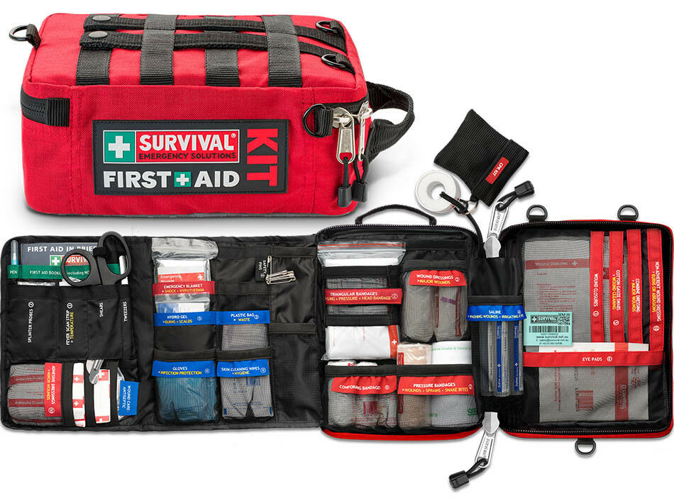 Survival First Aid Kit Home Car Office Workplace Boat Ebay