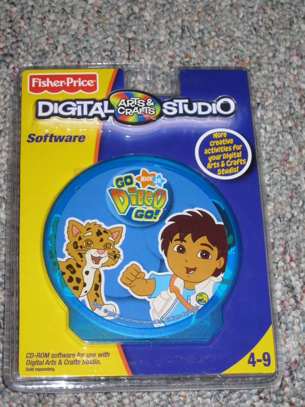 fisherprice digital arts crafts studio software diego ebay