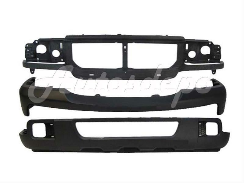06 07 ford ranger front bumper valance header panel 3pc ebay. Black Bedroom Furniture Sets. Home Design Ideas