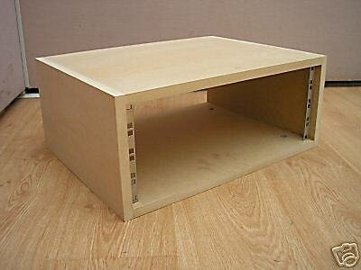 4u Unit 19 Inch Rack Cabinet Recording Studio Furniture 300mm Deep Ebay