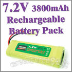 1 x 7.2V 3800mAh Ni-MH Rechargeable Battery Pack RC