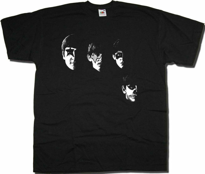 Old Skool Hooligans With The Beatles Kiss Makeup T Shirt ...
