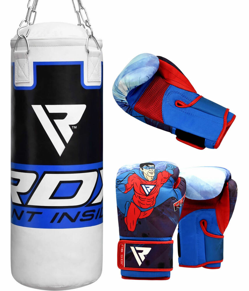 Rdx Weight Lifting Gloves Training Bodybuilding Gym Power: RDX Leather Neoprene Weight Lifting Grips Training Gym
