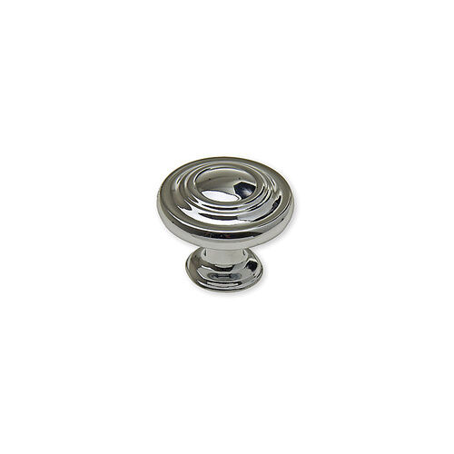 chrome kitchen cabinet knobs polished chrome knob pull cabinet kitchen hardware ring ebay 5420
