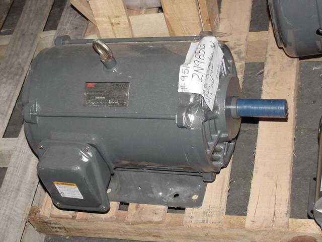 Dayton 7 5 hp electric motor 208 20 460 volt 1770 rpm 3 for 20 hp dc motor