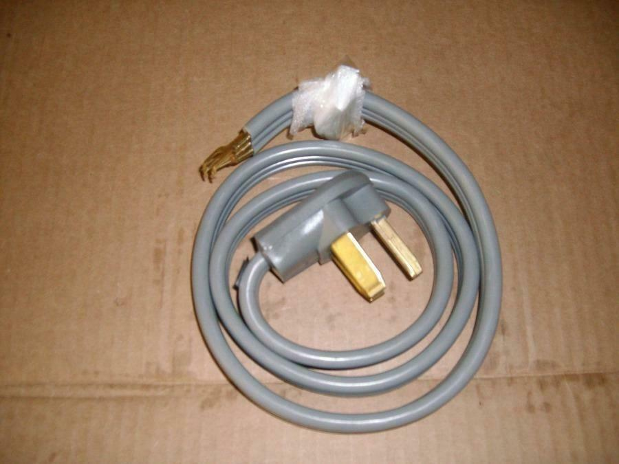 dryer power cord coleman 09124 a1206687 4 power supply electric dryer 10556