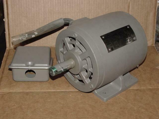 Toshiba By152dgf2a4 80489024 1 1 2hp Electric Motor 230