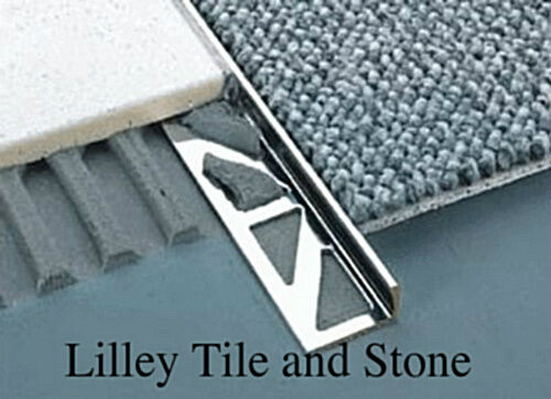 Stainless Steel Square Edge Tile Trim 2 30mm Ebay