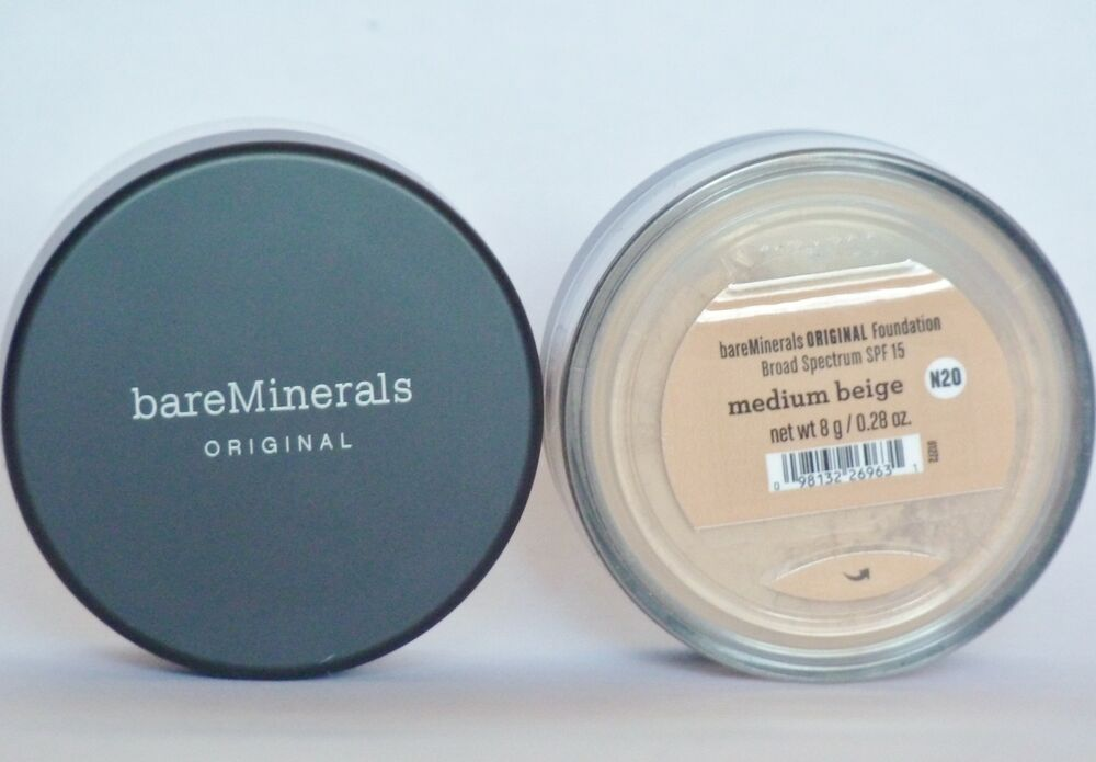 bareMinerals Medium Beige Original Loose Mineral Foundation SPF 8g Bare Minerals  | eBay