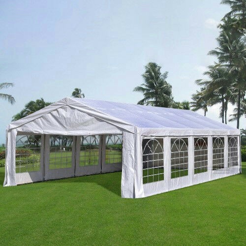 Quictent Deluxe 6m X 10m Large Party Tent Wedding Marquee