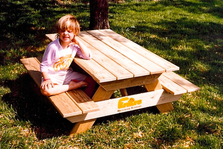 Picnic Table Kid-Size Woodworking Plan by Plans4Wood | eBay
