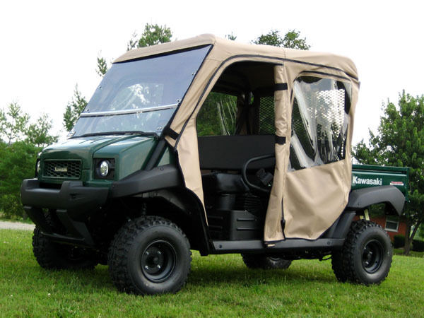 S L on Kawasaki Mule Side By
