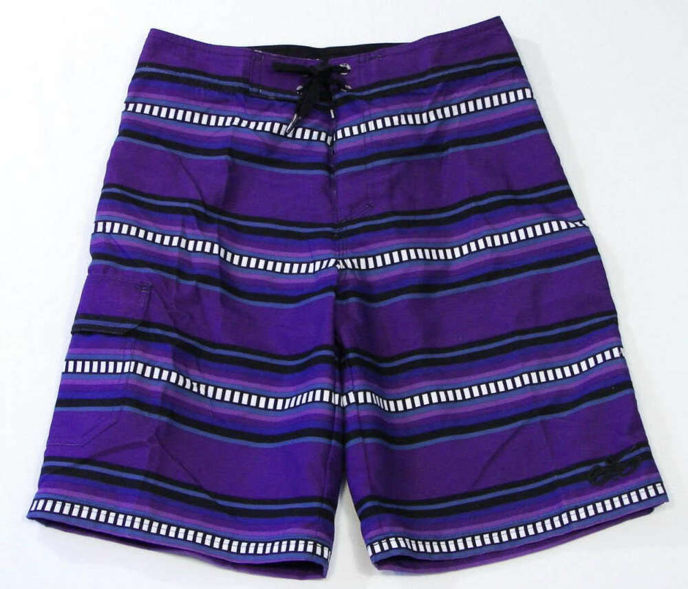 Nike Purple 6.0 Cargo Board Shorts Swim Trunks NWT | eBay