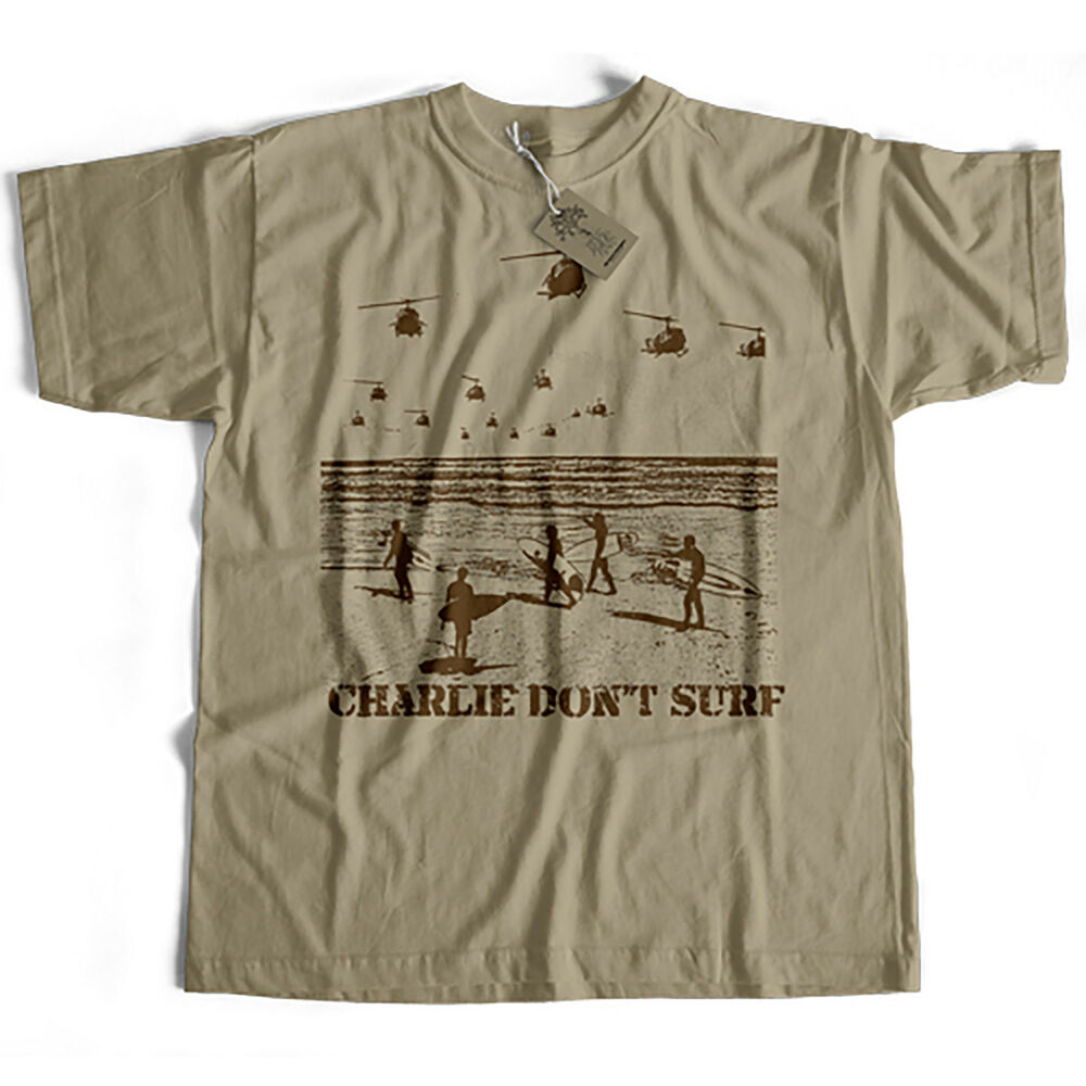 Inspired By Apocalypse Now T Shirt Charlie Don 39 T Surf Cult