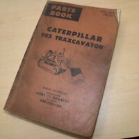 CAT Caterpillar 955 Traxcavator Parts Manual Book 60A track loader catalog spare