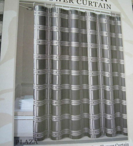 Dark Bathroom Shower Curtain