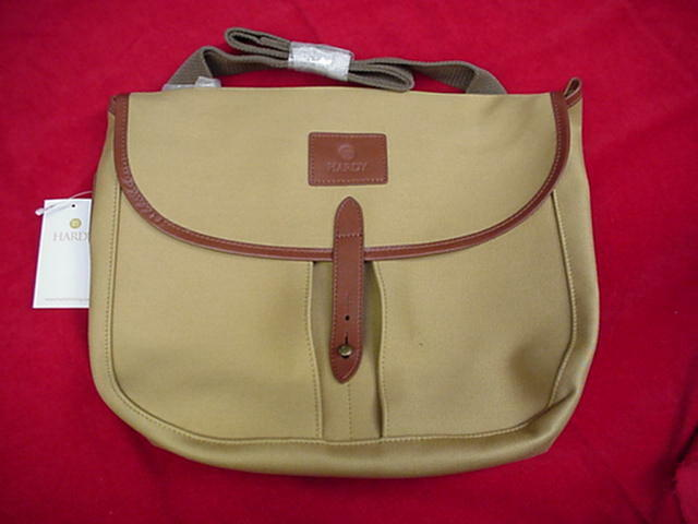 Hardy fly fishing canvas gear bag model aln great new ebay for Fly fishing bag
