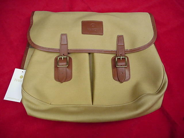 Hardy fly fishing canvas gear bag model test great new ebay for Fly fishing bag