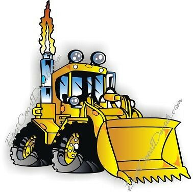Cat Backhoe Jcb Loader Decal Amp Ford Custom Deer Decals Ebay