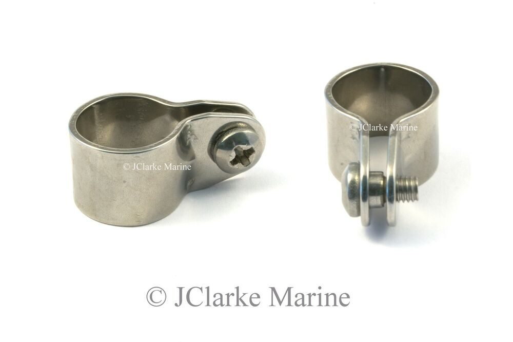 Boat Cover Canopy Fittings Standard Clamp 7 8 Quot Bar Ebay