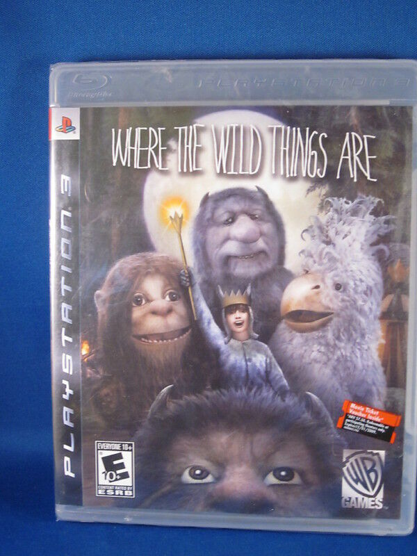 Where the Wild Things Are   PS3 Games   PlayStation
